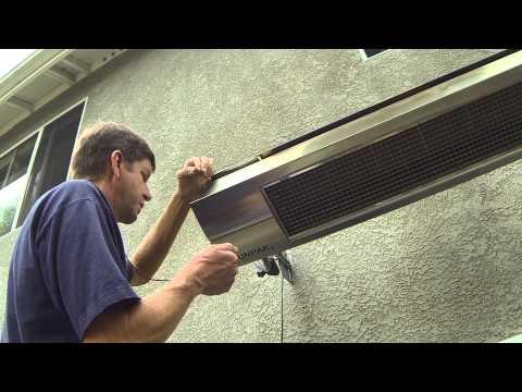 Program - Pair Your Infrared Dynamics, Sunpak Patio Heater TSR Remote to Heater / patioheat