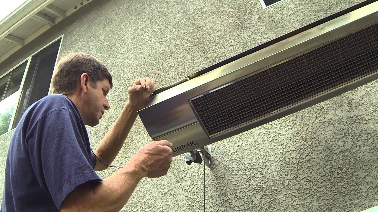 Program - Pair Your Infrared Dynamics, Sunpak Patio Heater TSR ...