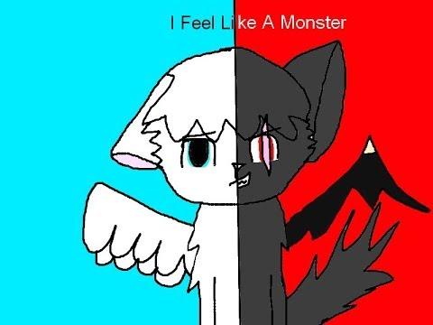 wolf  speedpaint  i feel like a monster - YouTube