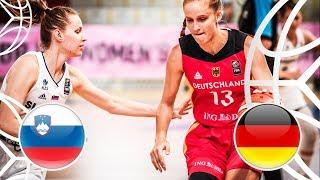 Slovenia v Germany - Full Game - FIBA U18 Women