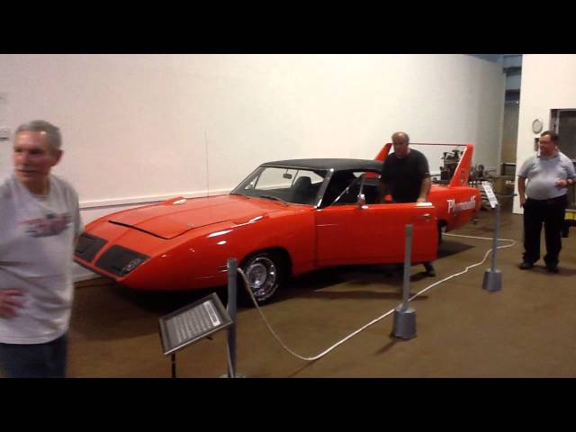Simeone Foundation Superbird Runs in Museum