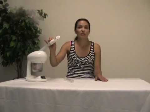 How To Use A Mini Facial Steamer - Massage Tools