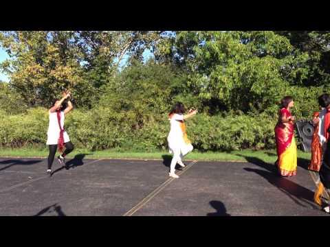 Dhol, Tasha & Lezim in Rochester, New York for Ganesh Utsav