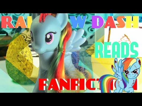 Rainbow Dash Reads FANFICTION!