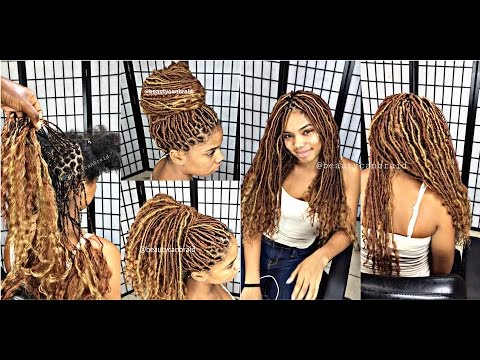 #190. SILVER PLUS GODDESS LOCS STYLE PACKAGE