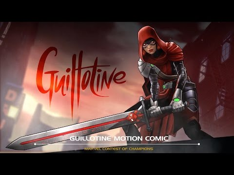 Guillotine Motion Comic | Marvel Contest of Champions