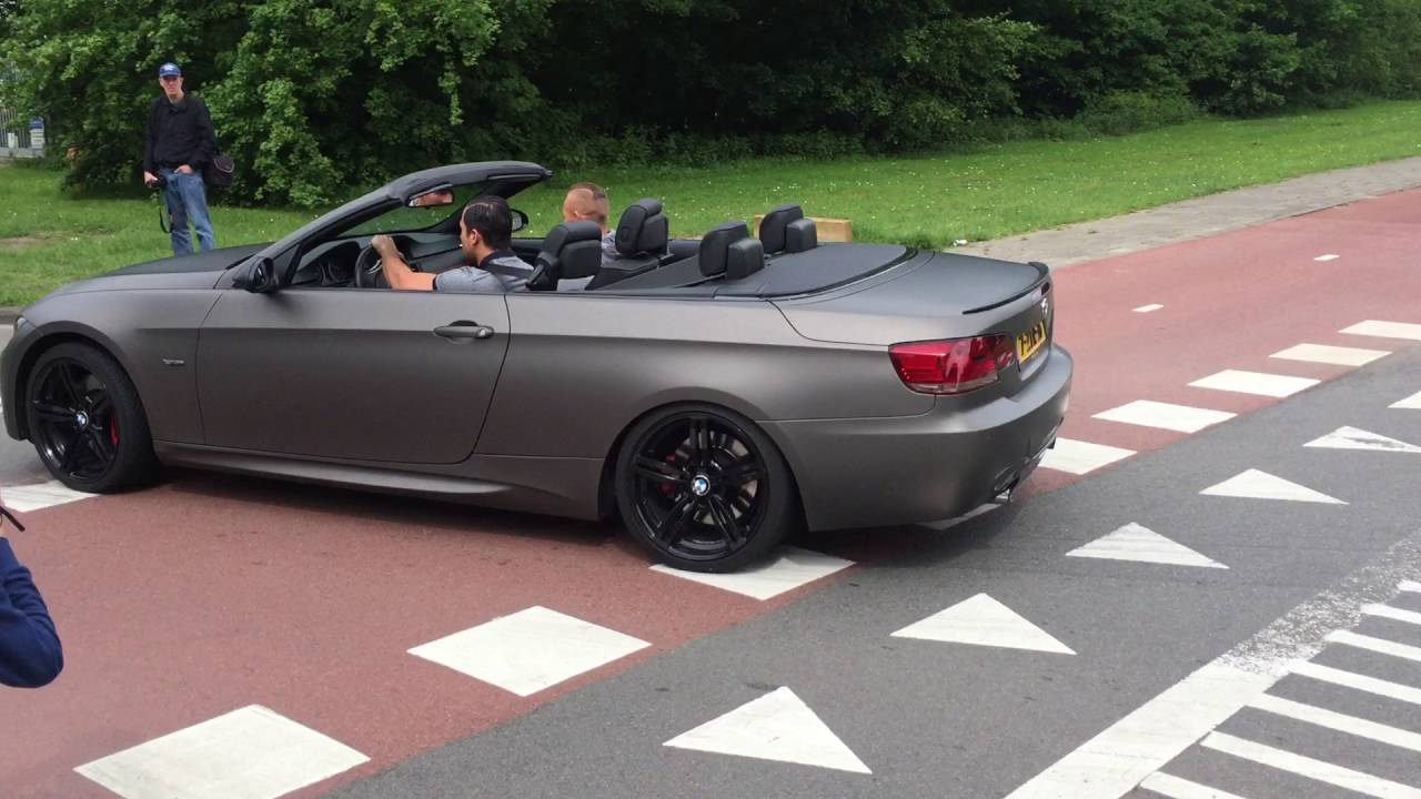 bmw 335i cabrio cars and coffee xxl 2016 exhaust sound engine sound youtube. Black Bedroom Furniture Sets. Home Design Ideas