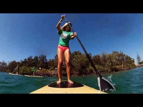 Byron Bay Stand Up Paddle Board School - SUP Promo Video