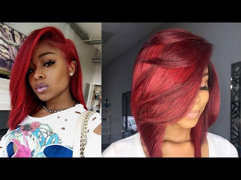 🔴🔴amazing-red-hairstyles-compilation🔴🔴