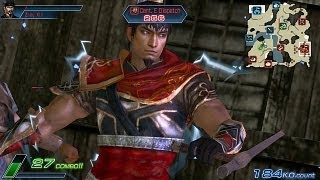 PS Vita Capture Dynasty Warriors Next Zhou Tai & Sun Ce Gameplay