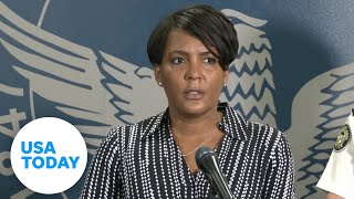 Atlanta mayor makes emotional plea to protesters: This is chaos  | USA TODAY