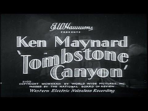 Tombstone Canyon  [1932]  Alan James