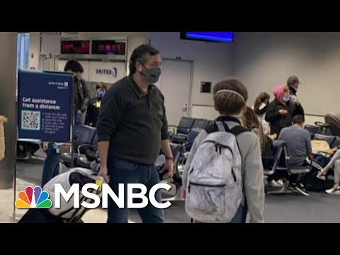 'Sniveling Coward': Cancún Cruz Won't Live Down His 'Walk Of Shame'   The Beat With Ari Melber