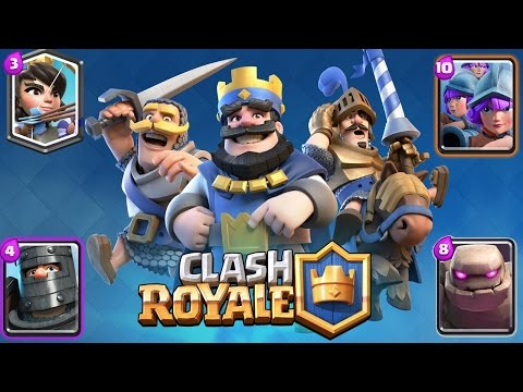 Clash of Clash: Clash Royale - Double Prince Deck Strategy - Clash Royale Live Stream