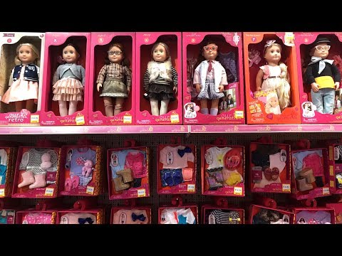 Thumbnail: Toy Shopping Toy Hunting ! Lots baby dolls Our Generation Dolls Barbie Dolls !