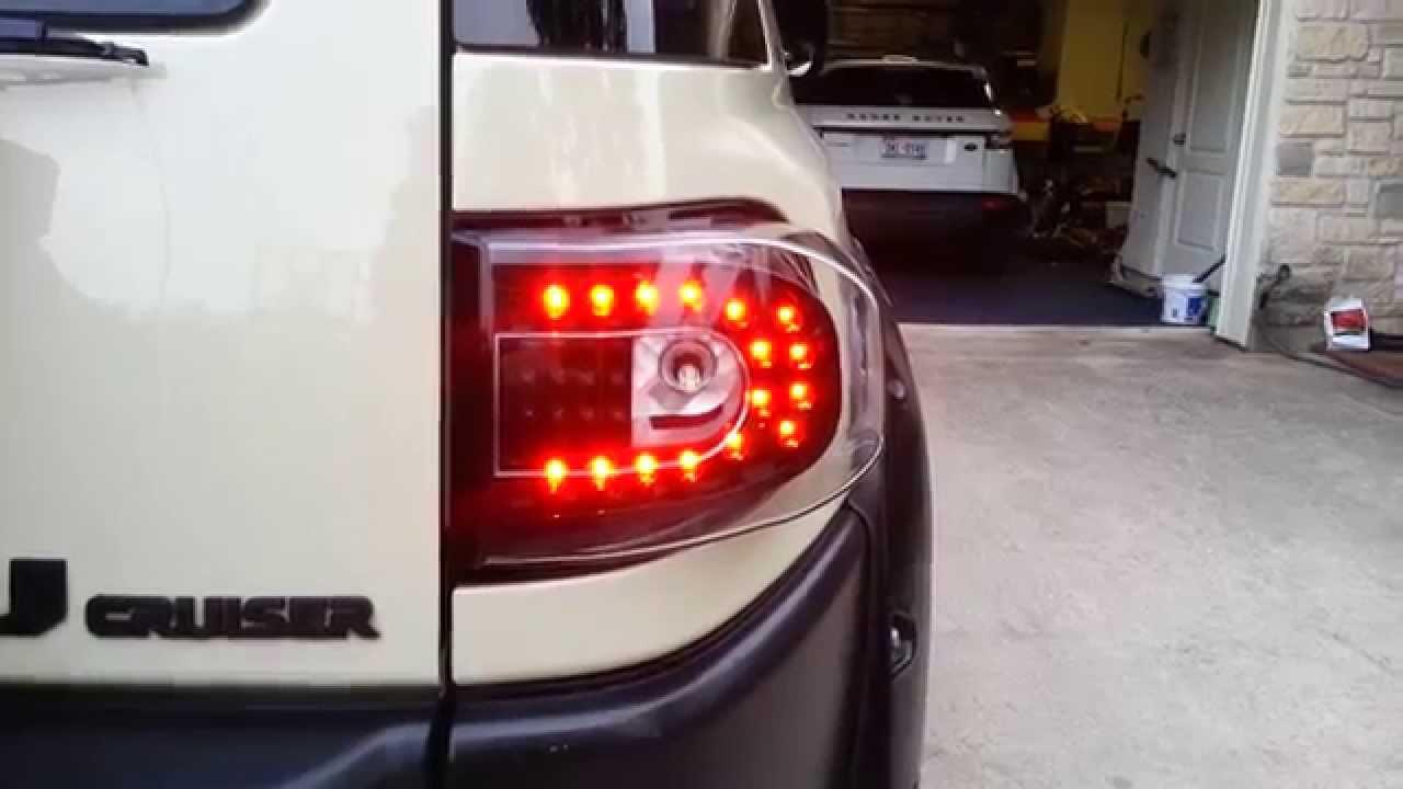Comparing Anzo To Ipcw Fj Cruiser Tail Lights Youtube Toyota Mega In Usa