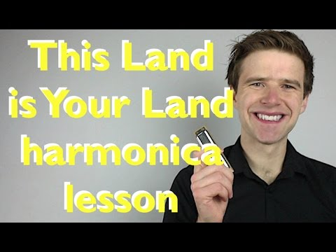 Harmonica harmonica tabs jurassic park : This Land is Your Land harmonica lesson: How to play Woody Guthrie ...