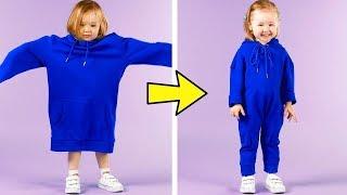 إليكِ 25 حيلة مع الملابس للأمهات الذكيات