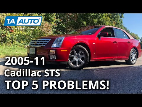 Top 5 Problems Cadillac STS Sedan 1st Generation 2005-11