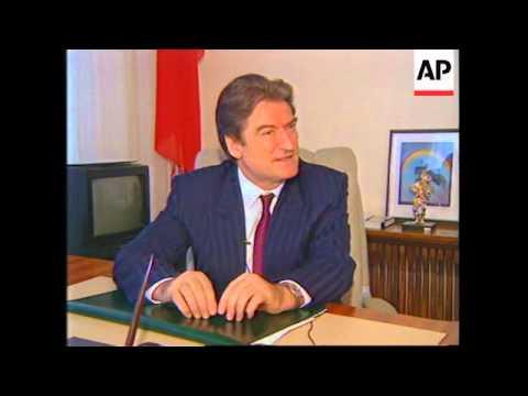 Albania: Tirana: President Sali Berisha reaffirms his position - 1997