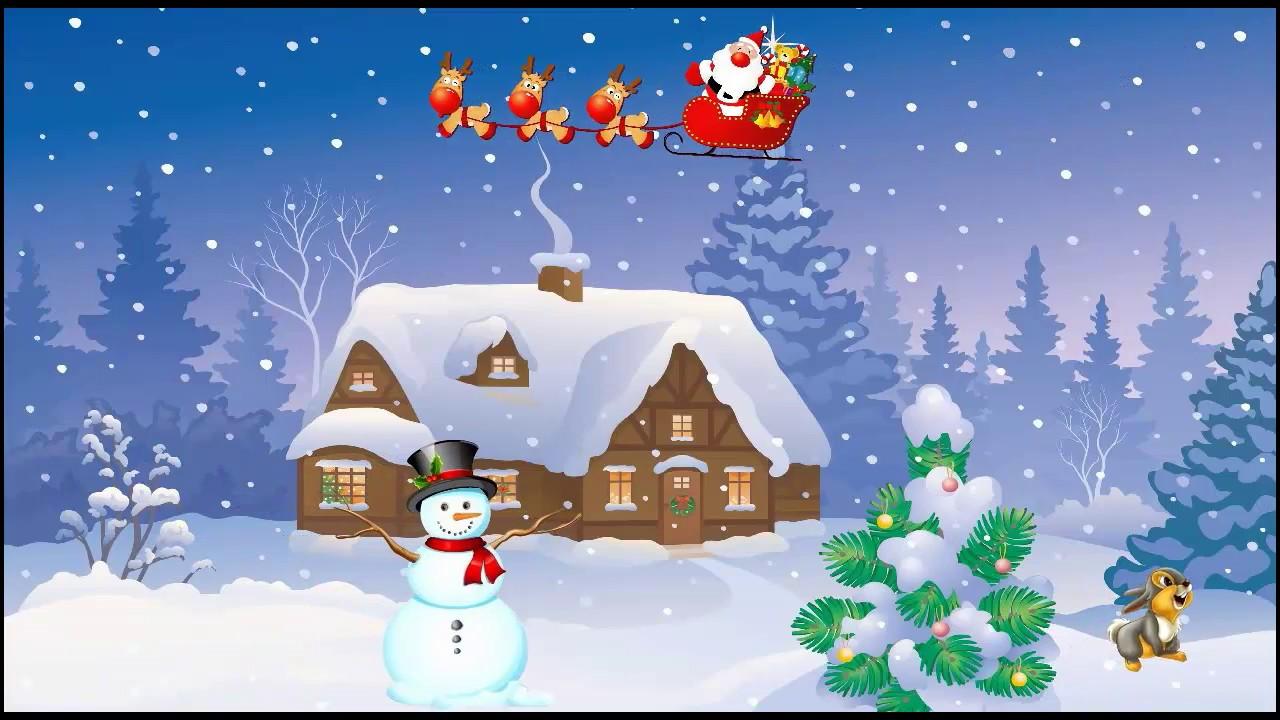 Детские песни про зиму! Хи-Хи Ха-Ха - YouTube