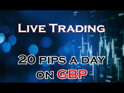 Live Trading on GBP...Using 5M Candles! Best Scalping Strategy