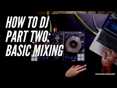 How to Mix The Basics Pt 2 | Serato Intro | Scratch DJ Academy