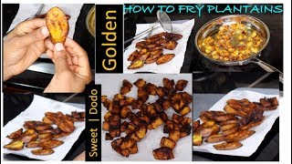 How to make Plantains (Dodo) | Slice and dice methods| Alolipępę