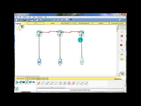Configure IP routing using RIP (routing information protocol ) example 2