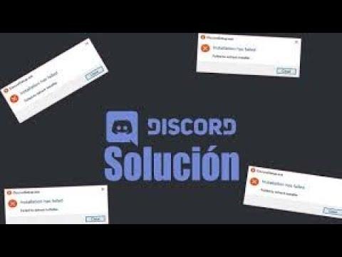 SOLUCIÓN AL INSTALAR DISCORD (installation Has Failed) Español
