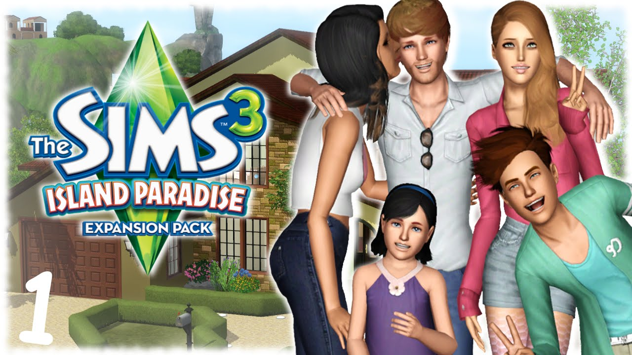 Let's Play : The Sims 3 Island Paradise (Part 1) Giant Squid