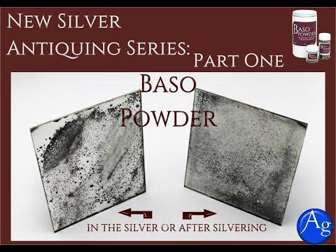 Making an Antique Mirror Series: Part One-Baso Powder