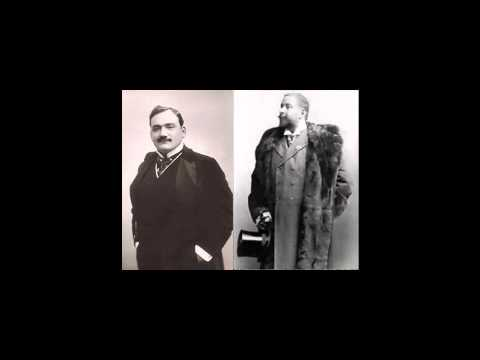 Bizet: Pearl Fishers. Duet Caruso And Ancona - 1907
