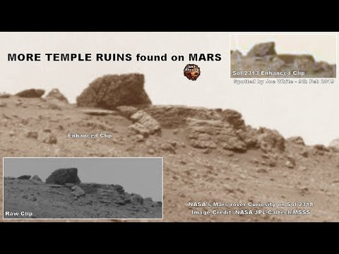 👽 MORE TEMPLE RUINS found on MARS - Ancient Structure - ArtAlienTV - 2019 Mp3
