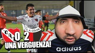 INDEPENDIENTE 0 - 2 COLON | SEMIFINAL | Reacción de un Hincha | Copa Liga 2021