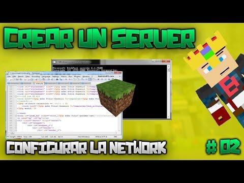 Configurar una Network | Crear un Server | Alberto Fuentes