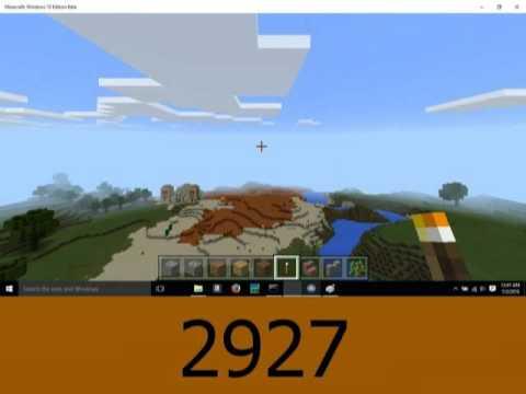 Minecraft PE: 30 Mesa & Snow Taiga