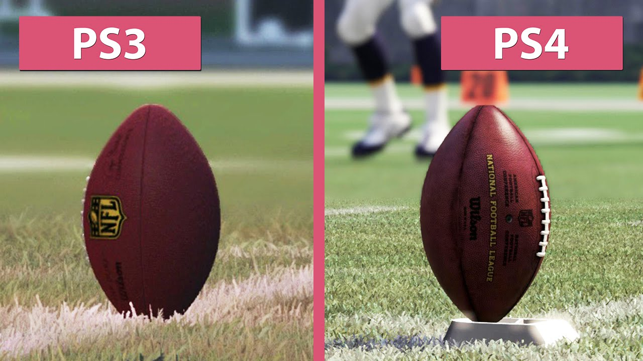 Madden NFL 16 PS3 Vs PS4 Graphics Comparison FullHD