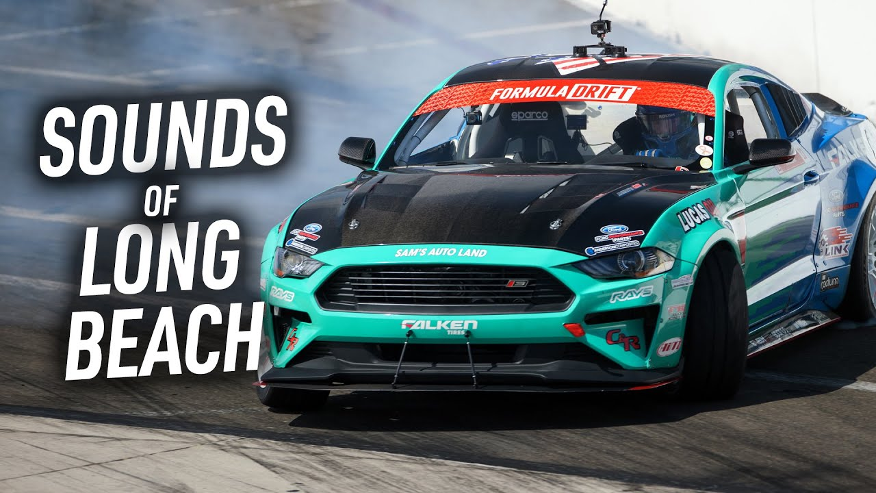 Sounds of Formula DRIFT Long Beach