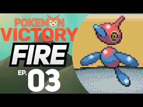 PORYGON-Z NO PRIMEIRO GINÁSIO - Pokémon Victory Fire #3