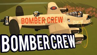 FTL WITH WW2 BOMBERS! STRATEGY GAME - BOMBER CREW GAMEPLAY LETS PLAY