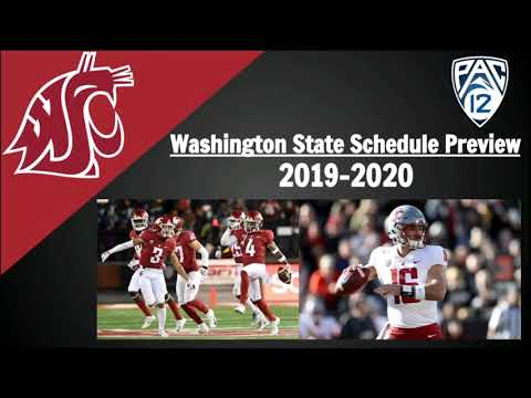 Washington State Football Schedule Preview And Predictions 2019