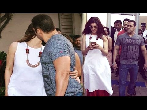 Image result for Salman Khan Kissed his Ex-girlfriend in Public, see photos