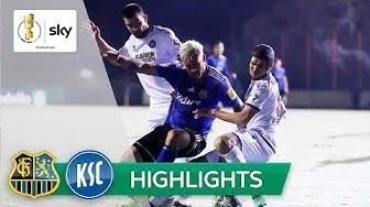 Regionalligist im Viertelfinale | Saarbrücken - Karlsruhe 5:3 n.E. | Highlights - DFB-Pokal 2019/20