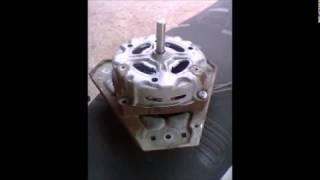 washing machine motor converted to 3 phase brushless permanent magnet alternator (PMA)