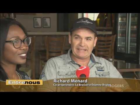 Mathieu Jérôme et Richard Ménard - La Brasserie Étienne Brûlé - Entre nous