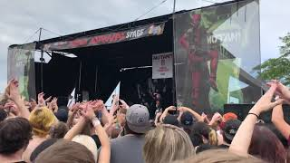 "The Amity Affliction - ""This Could Be Heartbreak"" Live @ Vans Warped Tour on 7-23-2018"