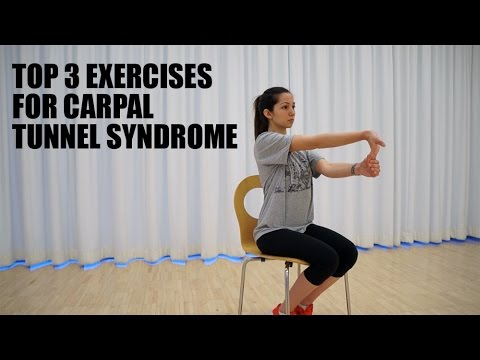 Top 3 Stretches & Exercises for Carpal Tunnel Syndrome.
