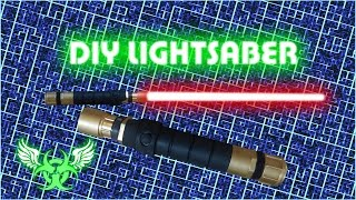 DIY LIGHTSABER WITH BLADE E 15