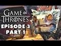 Game of Thrones - Telltale Games - Episode 3: Sword in the Darkness - Gameplay Walkthrough Part 1